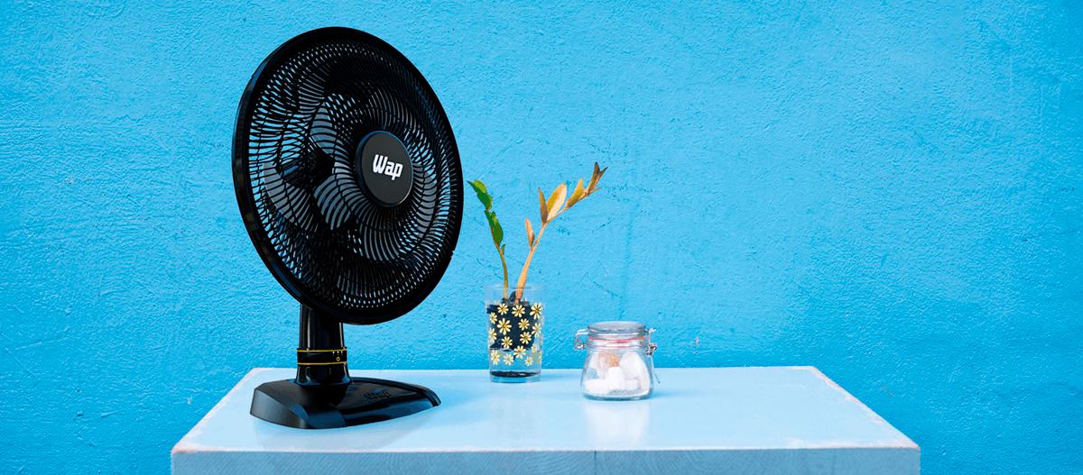 Como funciona um ventilador