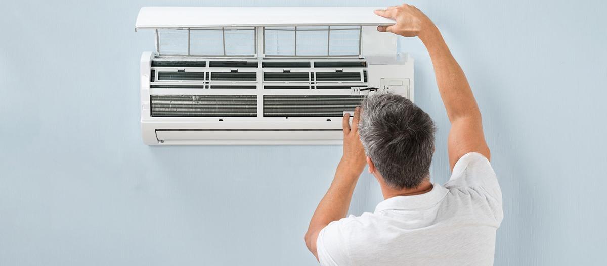 Poluição do ar causada pelo ar condicionado