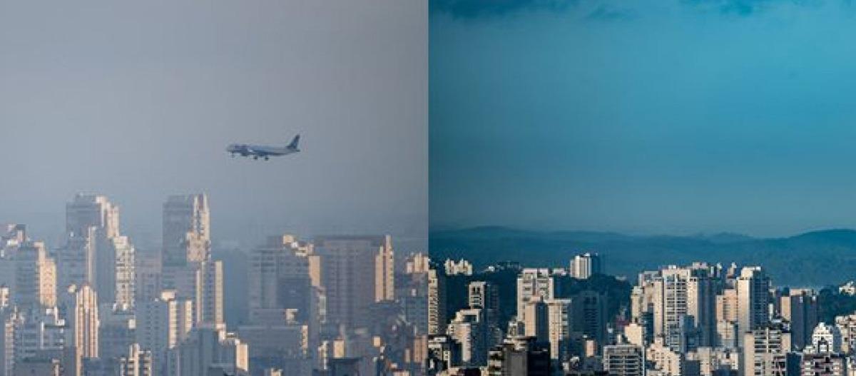 Qualidade do ar no Brasil após as medidas de restrição