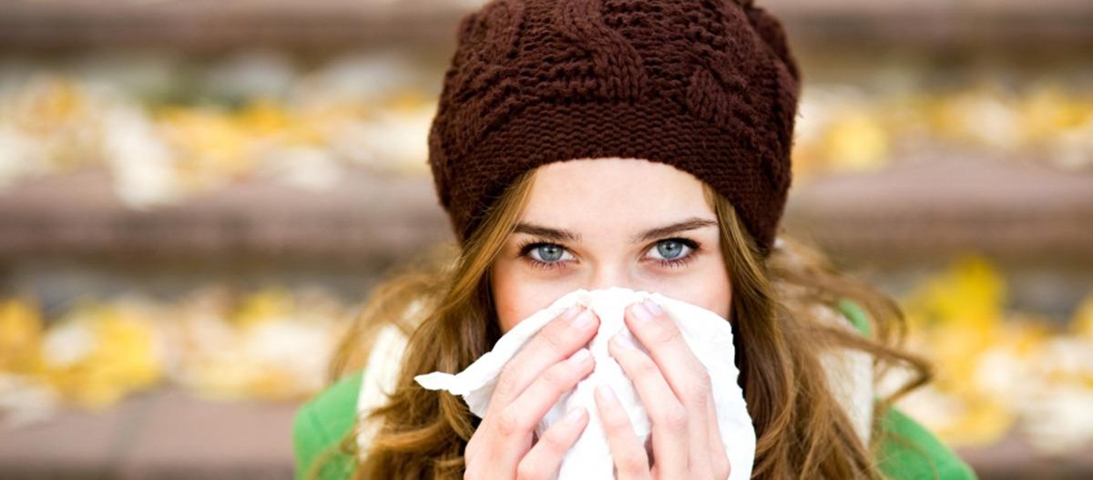 Poluição do ar no outono