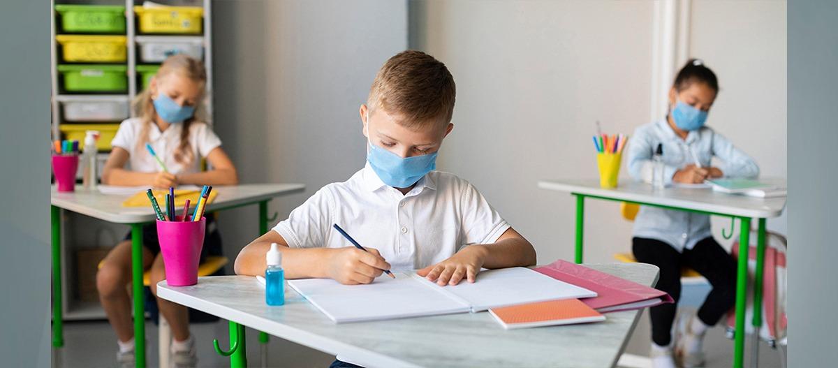 Qualidade do ar nas escolas após a pandemia