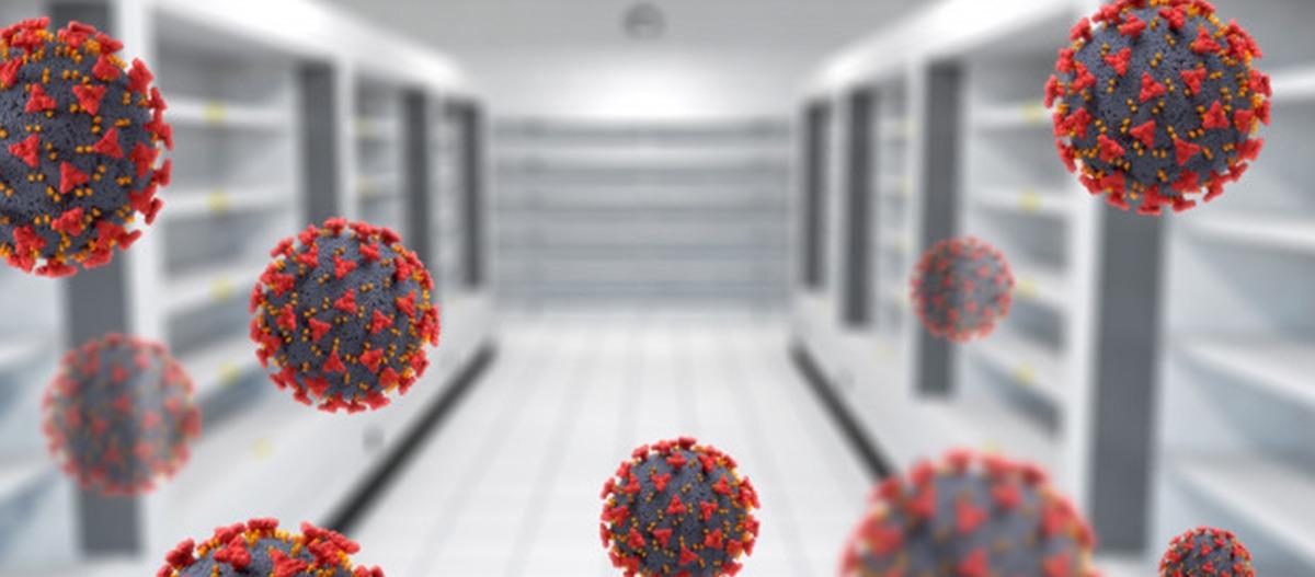 Como vírus e bactérias se espalham no ambiente