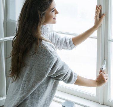 Mantenha a boa qualidade do ar durante o inverno