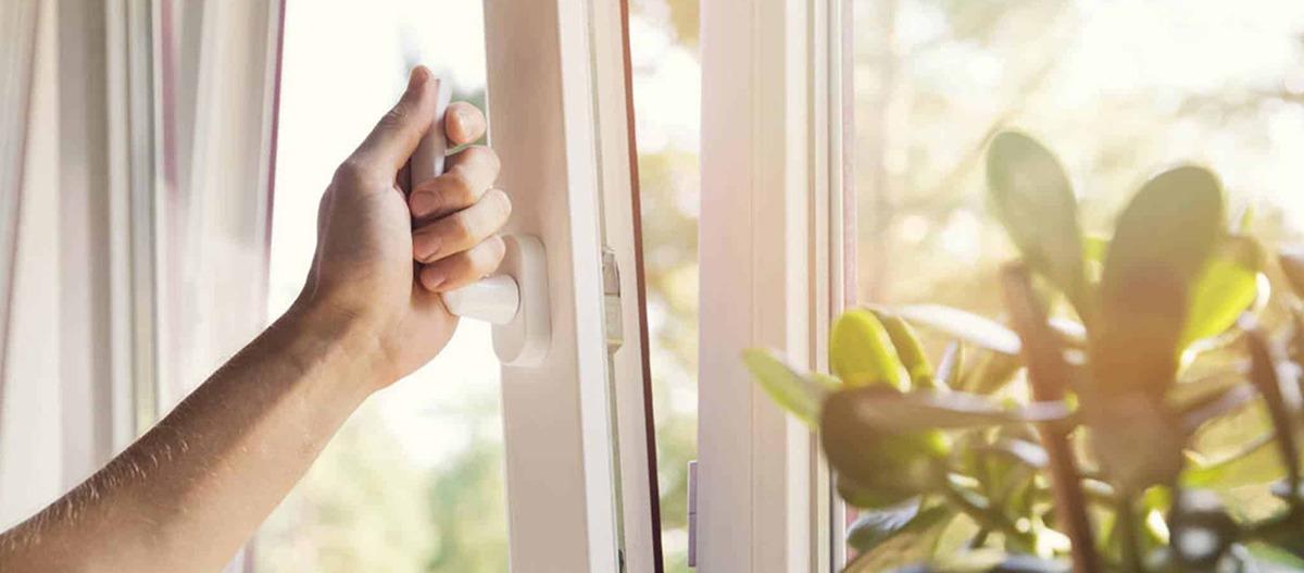 Importância de abrir janelas