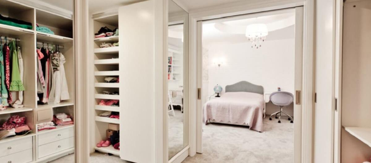 Manter quartos e closets arejados