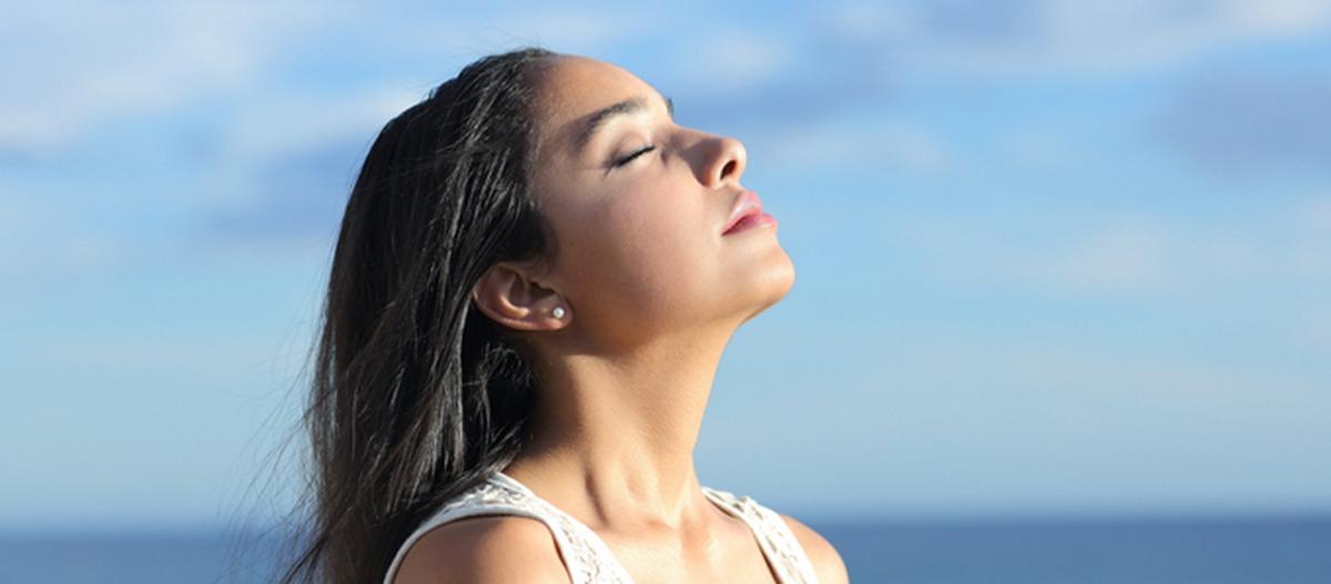Respirar ar puro